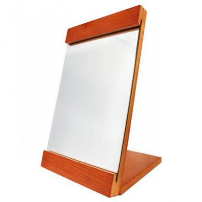時尚方型木製折鏡-原木