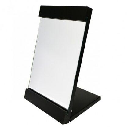 時尚方型木製折鏡-黑色