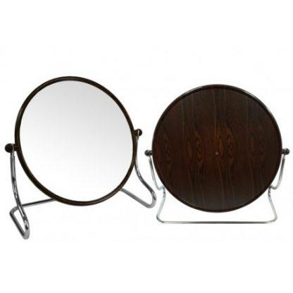 BB-425黑檀紋小圓形立鏡