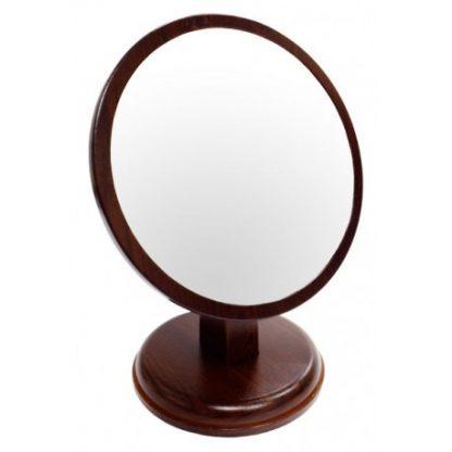 黑檀紋圓形立鏡